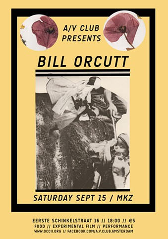 A/V Club #7 with Bill Orcutt