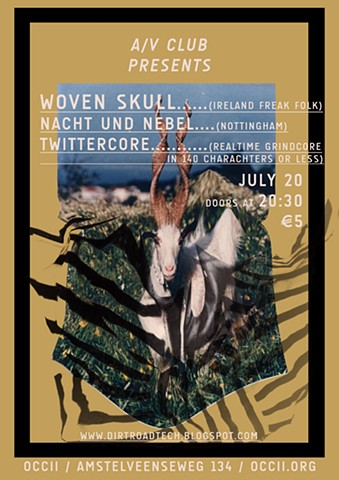 A/V CLUB #16 with Woven Skull & Twittercore