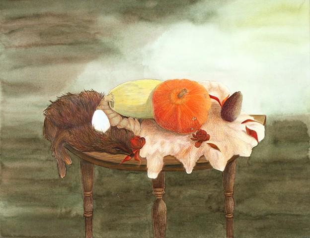 Avocado, Pumpkin and Ginger