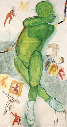 Green Ice Dancer
