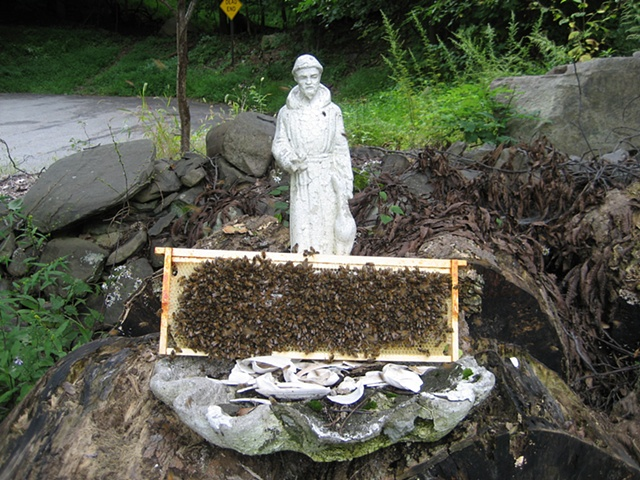 St. Francis and the bees.