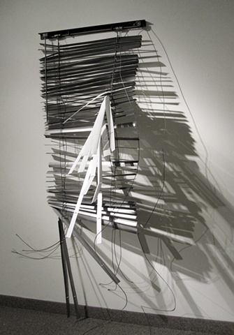steel sculpture blinds