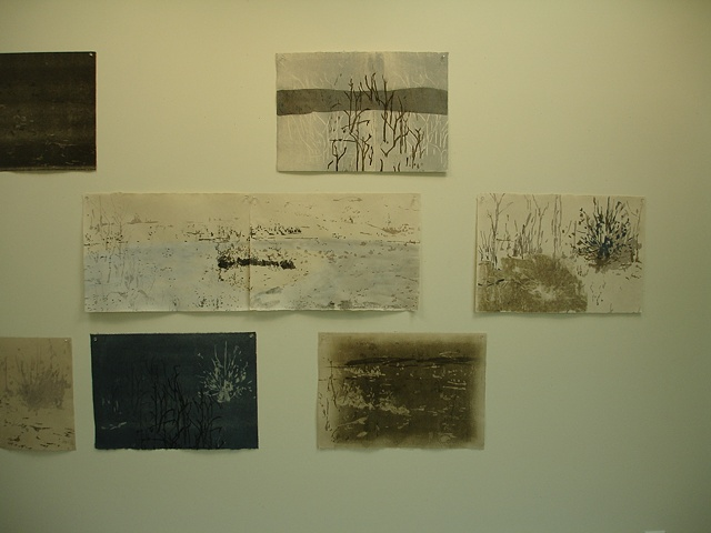 studio wall: Missouri River Studies