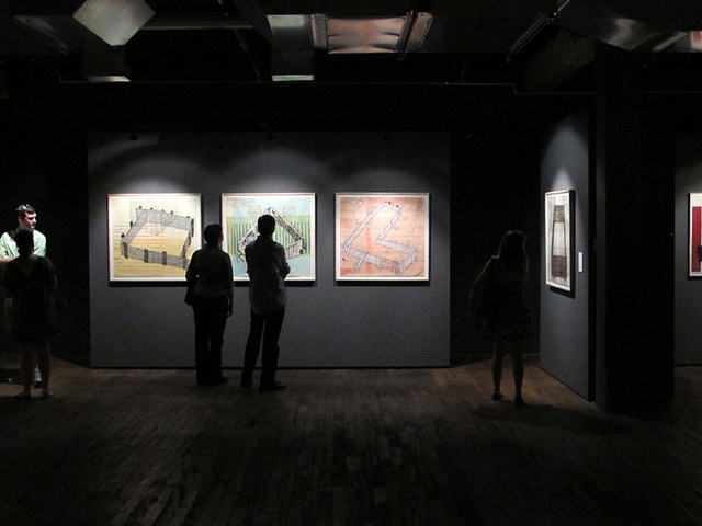 Gallery View of Architectural Woodcuts