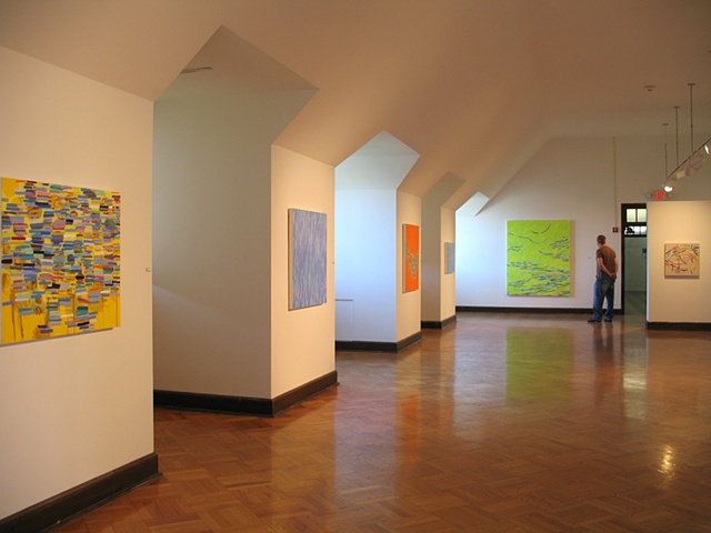 "Martina Nehrling, solo exhibition, ""Echo"" at Dominican University's O'Connor Gallery in River Forest, IL, 2006"