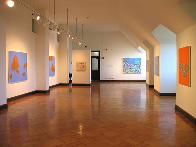 "Martina Nehrling, solo exhibition, ""Echo"" at Dominican University's O'Connor Gallery in River Forest, IL"