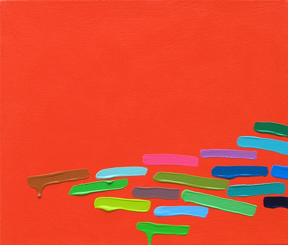 Martina Nehrling, Druthers, 12H x 14L in., acrylic on canvas, 2010