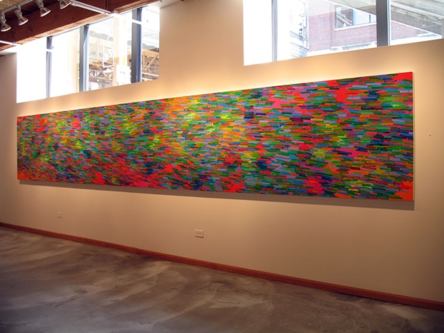 "Martina Nehrling, solo exhibition ""Through a Purple Patch"" at Zg Gallery, Chicago, IL, 2008"