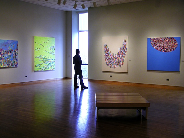 """Martina Nehrling: Paintings"" solo exhibition, South Bend Museum of Art, 2005"