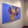 "solo exhibition ""Through a Purple Patch"" at Zg Gallery, Chicago, IL 2008"