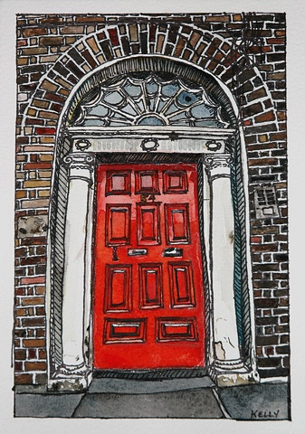 Untitled (Red Door #2)