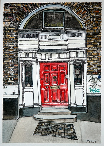 Untitled (Red Door #3)