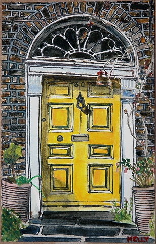 Untitled (Yellow Door #1)