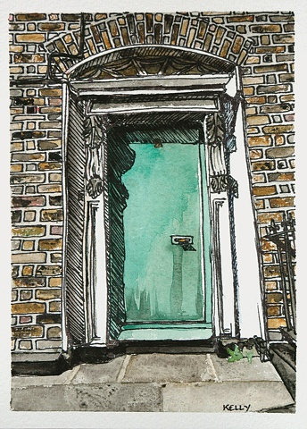 Untitled (Green Door #1)