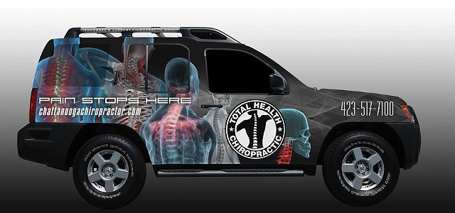 Total Health Vehicle Wrap
