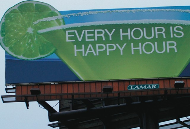 'Every Hour Is Happy Hour' - Current Work by Danny Hein and Michael Robert Pollard