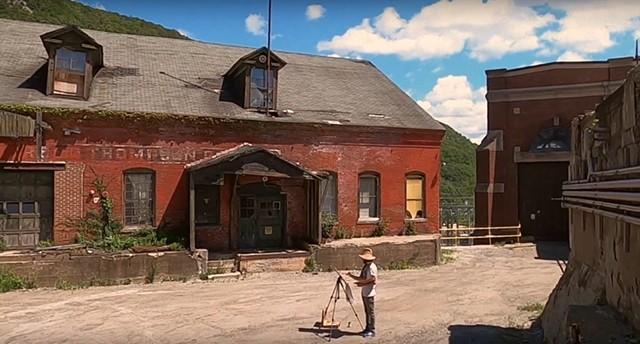 Bellows Falls, VT - Old Factory Painting Adventure