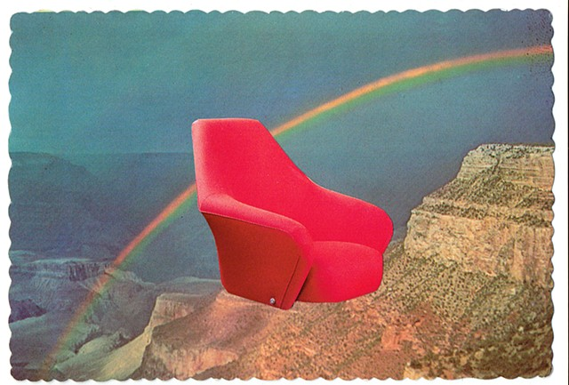 We've been around for over two decades (Red chair and the Grand Canyon) 1960/2015