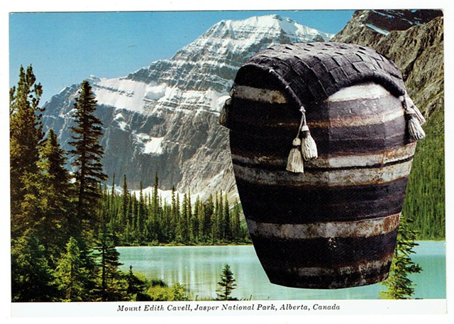 A complete sun protection regimen (Sunbrella fabric and Mount Edith Cavell) 1995/2017