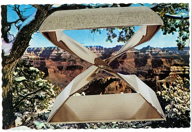 Design is All About Purity (Grand Canyon National Park and Carol Egan Stool) 1950 / 2015
