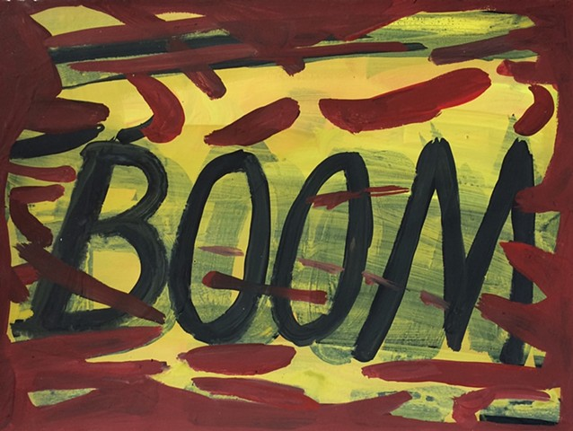 Boom/ (but with a whimper...)