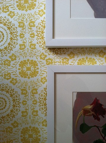 Detail, The Yellow Wallpaper