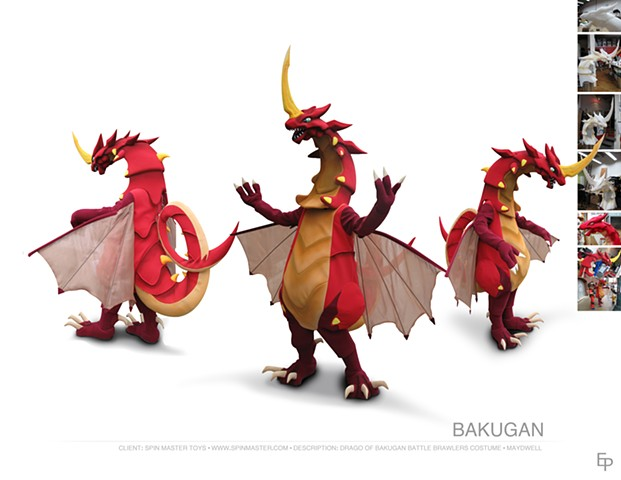 #bakugan #dragon #drago #spinmastertoys #mascot