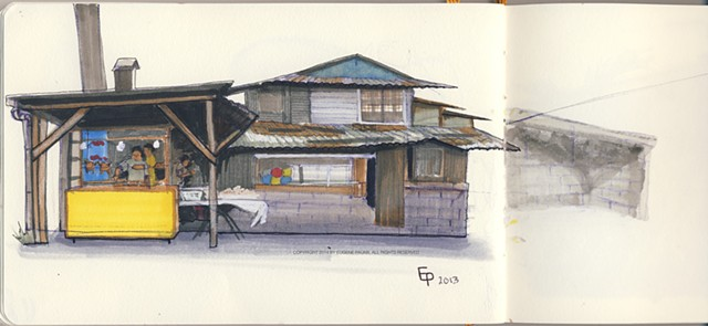 'Humble homes of the Philippines No.2' location San Pablo, Philippines