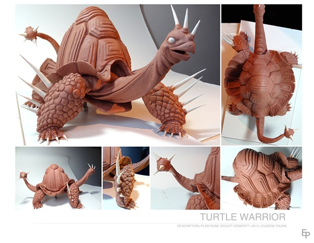 Turtle Warrior