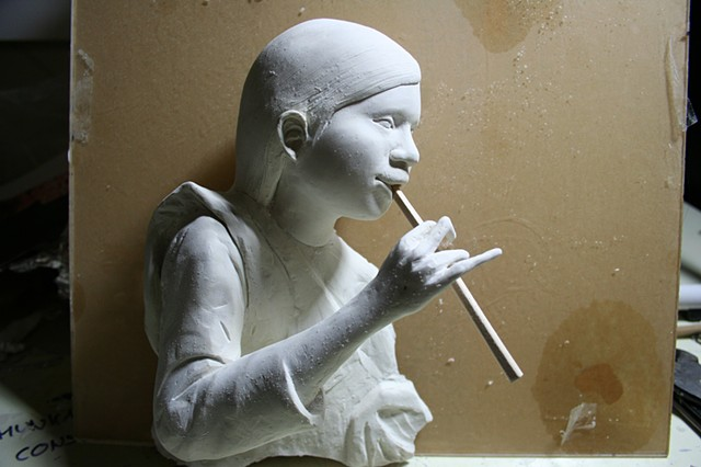 clay, sculpture