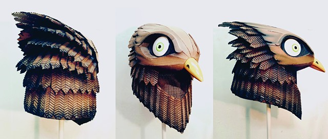 BIRD MASK, MASK, BIRD, COSTUME