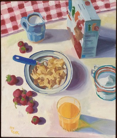 Life Cereal and Strawberries