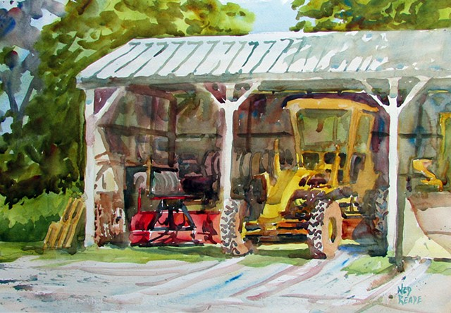 Town Highway Shed