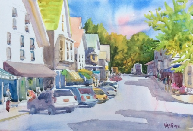 Main Street, Vineyard Haven looking north