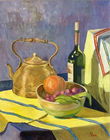 Copper Kettle, Fruit and Wine