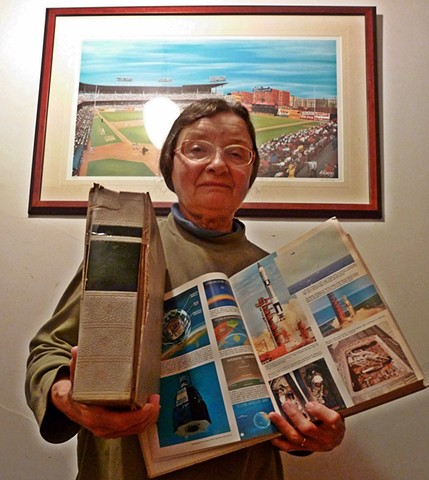 Rescued: Standard Encyclopedic Dictionary from South Philly adopted by Terry Ward's mom in Virginia