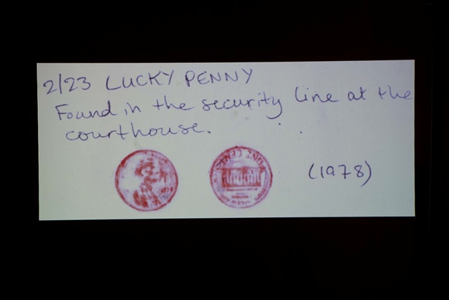 In Search of Lucky Pennies 2/23 (video still)