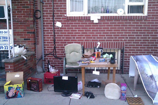 Stuff Travels: sidewalk sale, South 10th St., Philadelphia, PA
