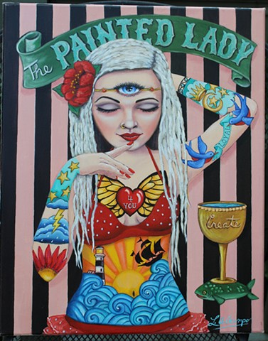 "The Painted Lady ""sold"""