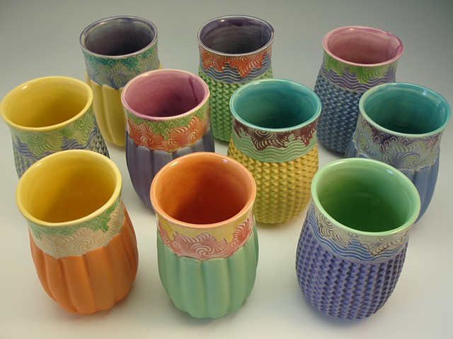 tumblers in candy colors!