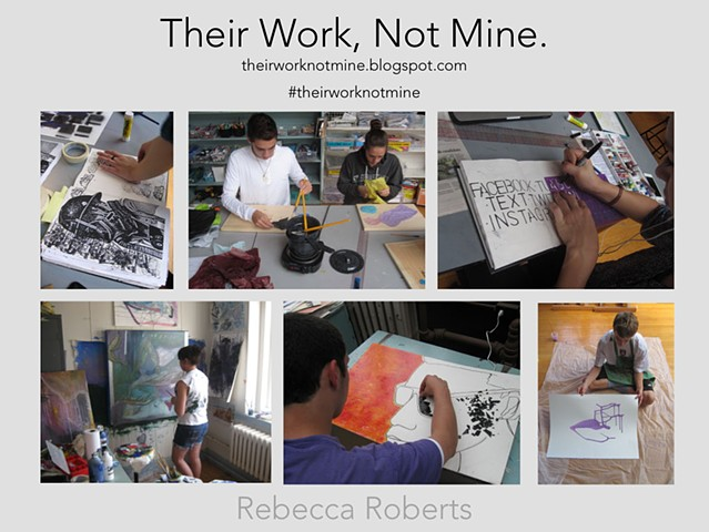 Their Work, Not Mine: The Student Centered Studio Classroom - presented at MAEA Annual Conference, 2015