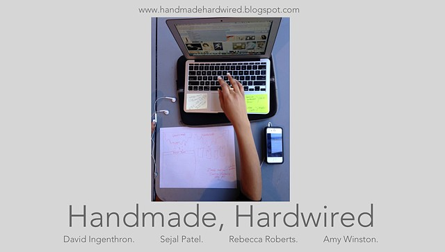 Handmade, Hardwired: Embracing Technology in the Studio Classroom - presented at NAEA National Convention, 2014