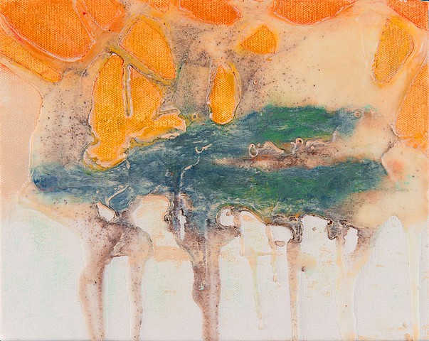 encaustic original art