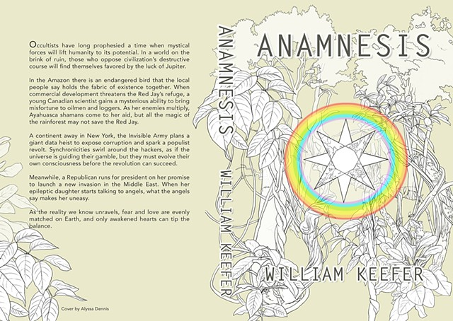 Anamnesis a novel by William Keefer