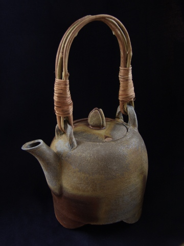 Teapot with Wild Grape Handle