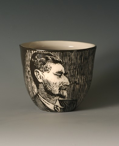 Tea Cup with MC Escher (from Tea Service for Kings of the Subconscious)