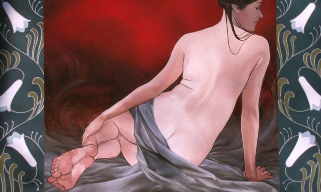 Art Noveau Nude