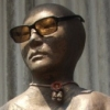 Bust with Sunglasses