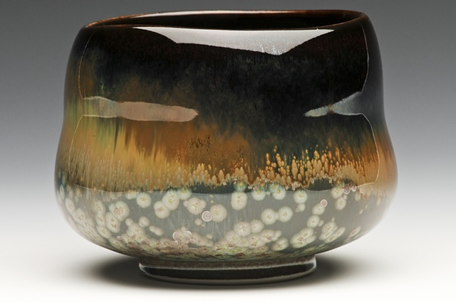 Ceramic tea bowl,
