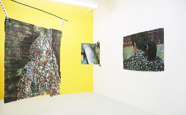 Installation View, Meena Hasan & Tommy Kha: Other Echoes Inhabit The Garden, LAUNCHF18, New York, NY
